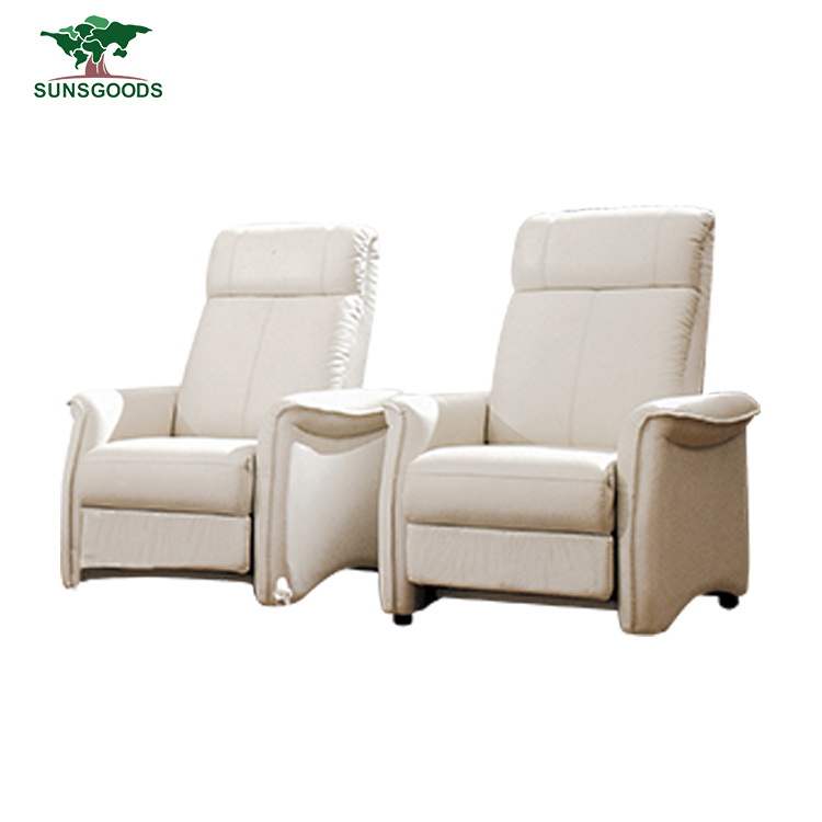 Automatic Recliner Chair Adjustable Leather