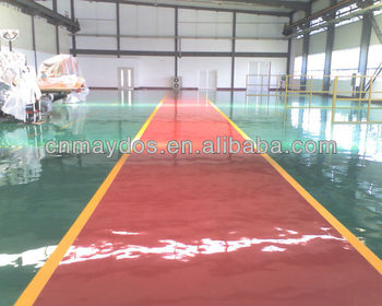 Eco-Friendly Paint! Healthy Life! Maydos Diamond Hardeness Industry Self Leveling Epoxy Concrete Flooring Coatings