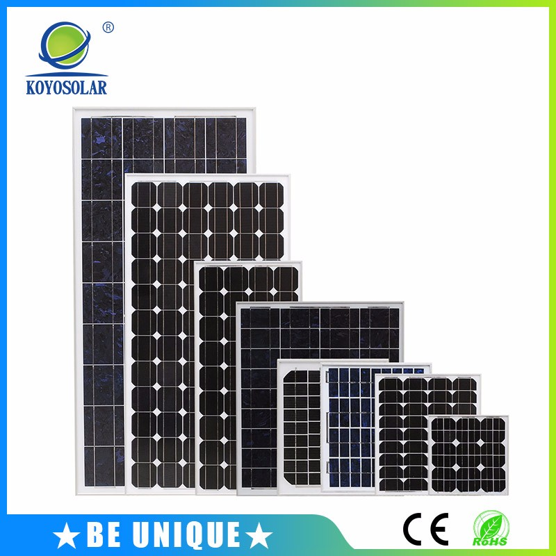 China solar photovoltaic panel 200w monocrystalline silicon solar cell