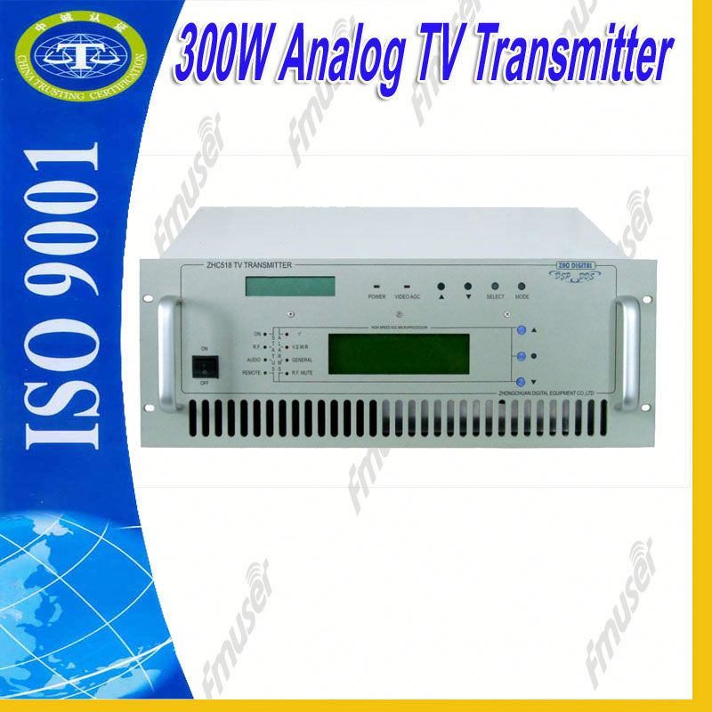 300W Analog UHF NTSC digital cable tv modulator used broadcast equipment A3