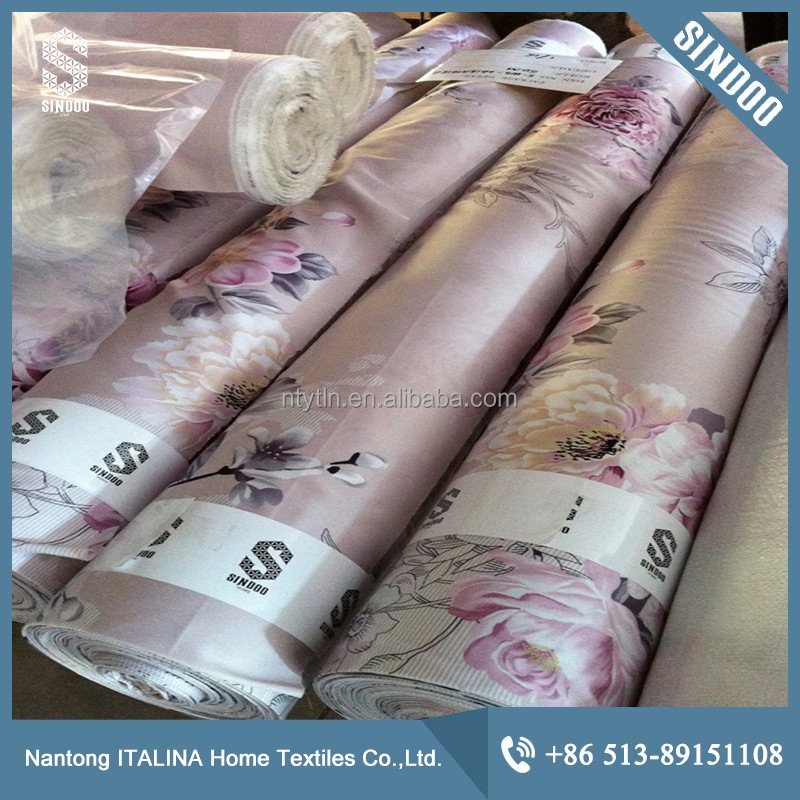 High quality 100% viscose fabric for bedding S-SD-07050-1