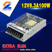 CONSTANT VOLTAGE 100W 12V SINGLE OUTPUT SLIM LED POWER SUPPLY HIGH PFC