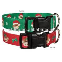 christmas dog collars & pet collar manufacturer