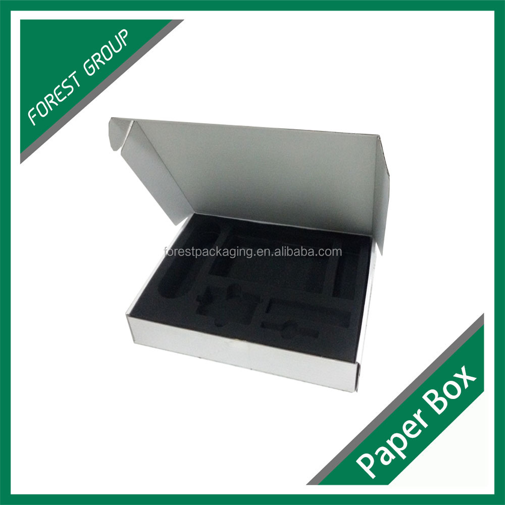 ELECTRONIC PRODUCT DELICATE CUSTOM FOAM BOX INSERTS PACKAGING