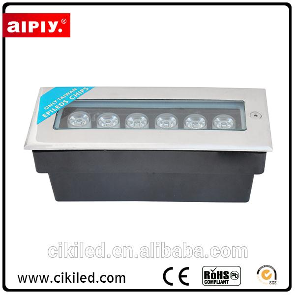 Best selling High Power led underground light/Outdoor Waterproof led inground paving in concrete