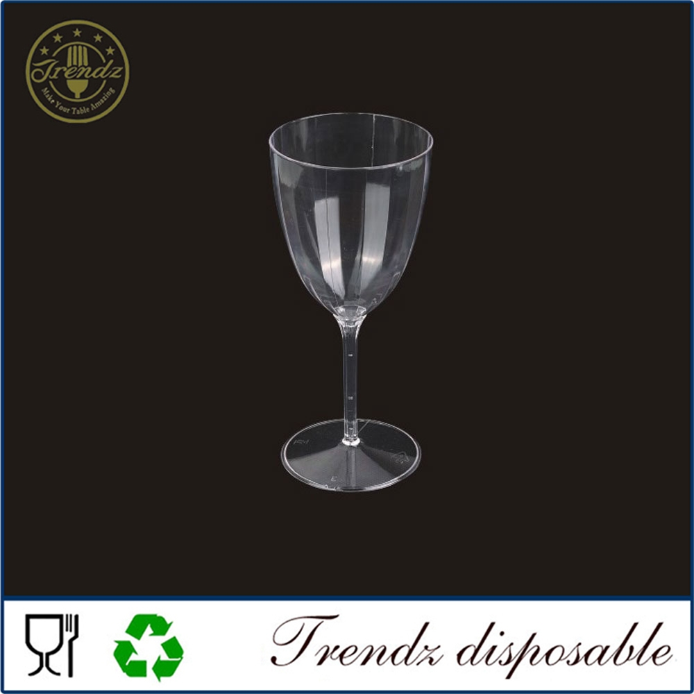 G102 Wine Glass Factory China PS Plastic Wine Glass