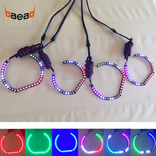 Custome design 12V LED angel eye excellent halo ring chasing lights for hot sale
