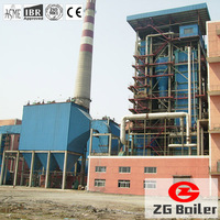 CFB coal fired water tube boiler use in thermal power plant