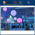 Event & party decoration pvc inflatable balls,16 colour changing led ball lights,led light for balloon,