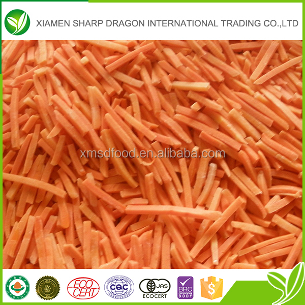 Frozen style new crop iqf carrot cube