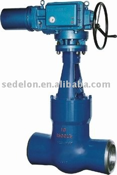 Self sealing gate valve(Steel gate valve/Wedge gate valve)