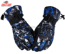 Custom made winter motorcycle cycling gloves