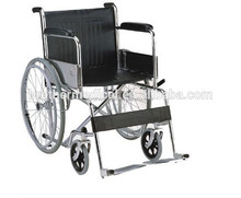 Best seller manual wheelchair with high back for elderly people