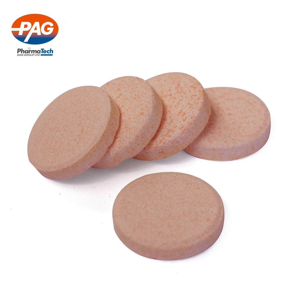 High Quality magnesium Vitamin C Effervescent Tablets