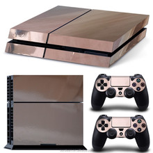 Wholesale Sticker for PS4 Console Chrome Skin Sticker
