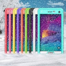 For Samsung Galaxy Note4 hybrid case, pc case for Samsung Galaxy Note 4 waterproof