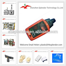 Plastic injection molded product with IMD technology