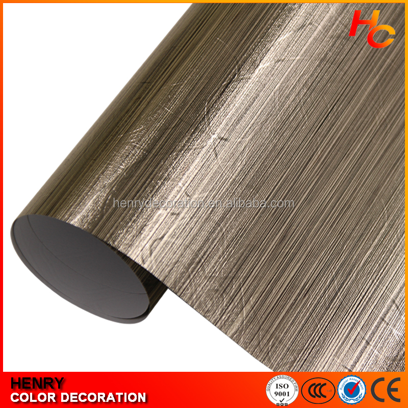 Vinyl rolls wholesale pvc decorative film for door laminate paper for kitchen cabinet
