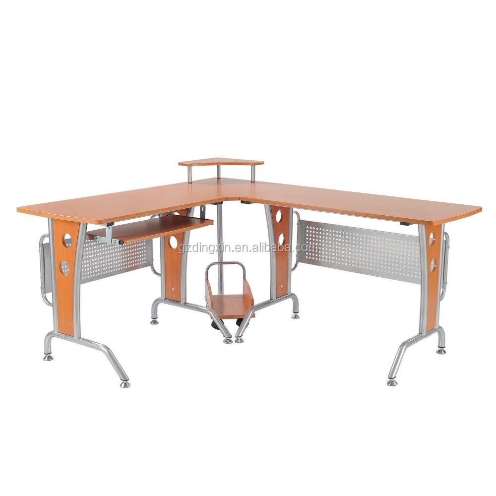 Office Counter Table Design Wood-steel Computer Desk - Buy Reception ...