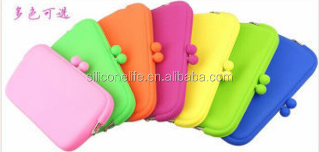 Hotsale promotion hand jelly bag silicon purses