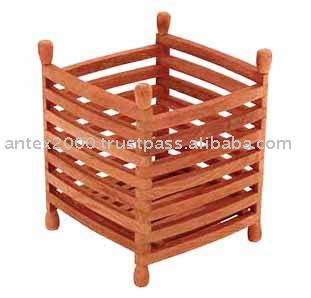 Teak Garden and Outdoor Furniture: Teak Planter And Pots