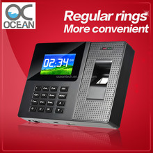 Easy operating network electronic fingerprint machine/cloud tme attendance system for office