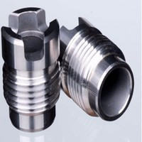 Hot selling Tungsten carbide thread nozzle of PDC drilling bit cross groove wrench series