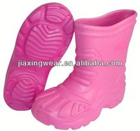 New Injection good quality warm leather winter boots for outdoor and promotion,light and comforatable