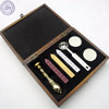 best gift for business wax seal stamps stickers spoon candle in wooden gift box