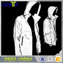 (OEM FACTORY)2017 mens jacket wholesale wind break, Night running 3M reflective windproof jacket