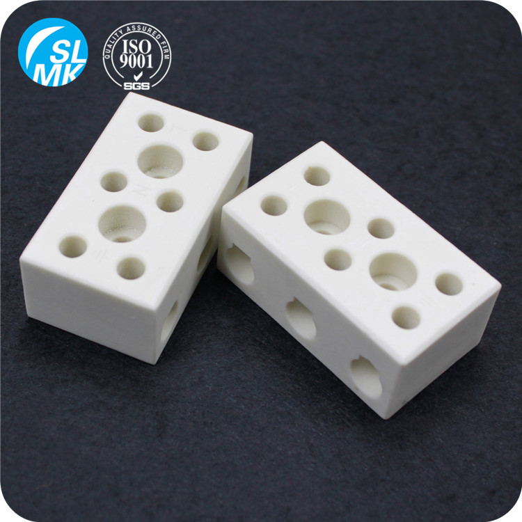 electrical thermocouple ceramic terminal block steatite parts