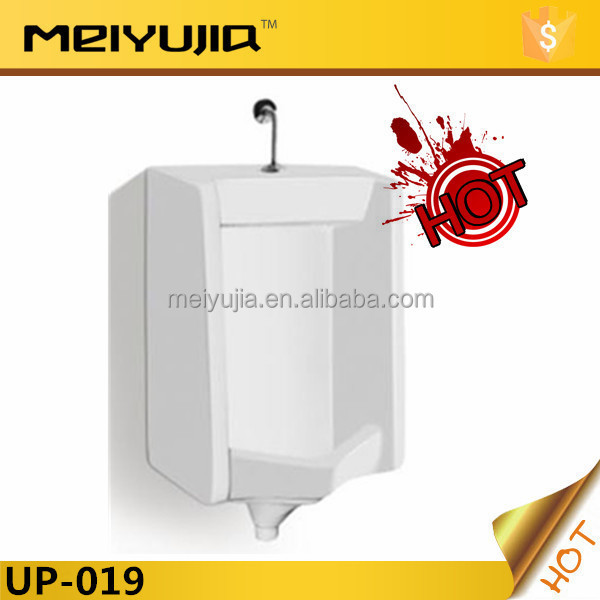 UP-019 hot sale common porcelain ceramic wall hung portable urinal
