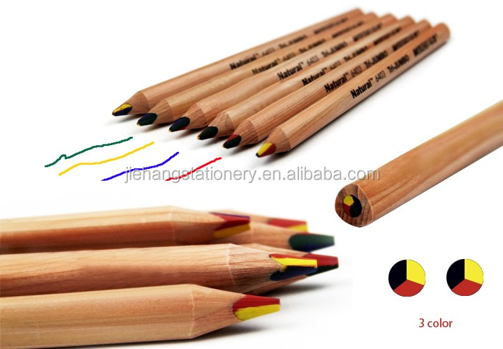 cheap raw wood color eraser pencil Eraser wooden color pencil