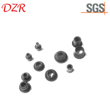 High quality popular rubber plugs oval angled rubber grommet