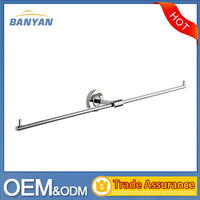 Bathroom Accessories Wall Mounted Stainless Steel Extension Towel Bar