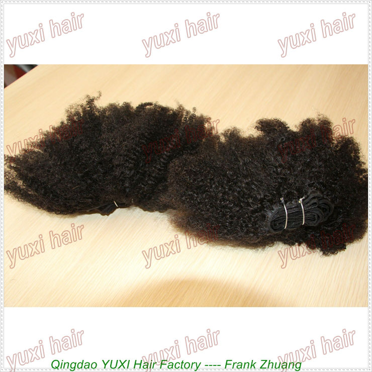 Hot selling 4c afro hair extensions