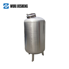 Accept custom order stainless steel petrol hydraulic oil tank with half pipes
