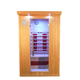 New design far infrared sauna with waterproof mp3 player for sauna room