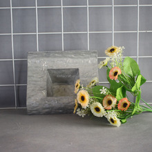 Wholesale alibaba cheapest price decorative garden silver steel flower pot