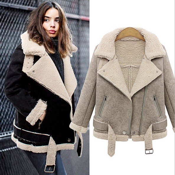 Ey0227a Womens Winter Short Shearling Sheepskin Coat - Buy Short ...