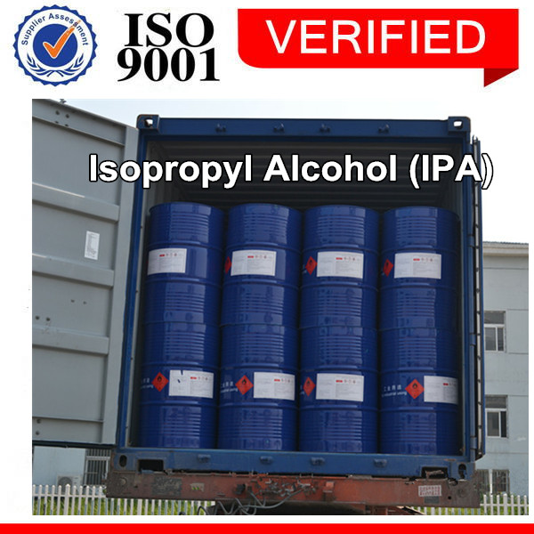 We are the largest supplier in mainland China for industrial grade 99.7% Isopropyl alcohol(IPA)