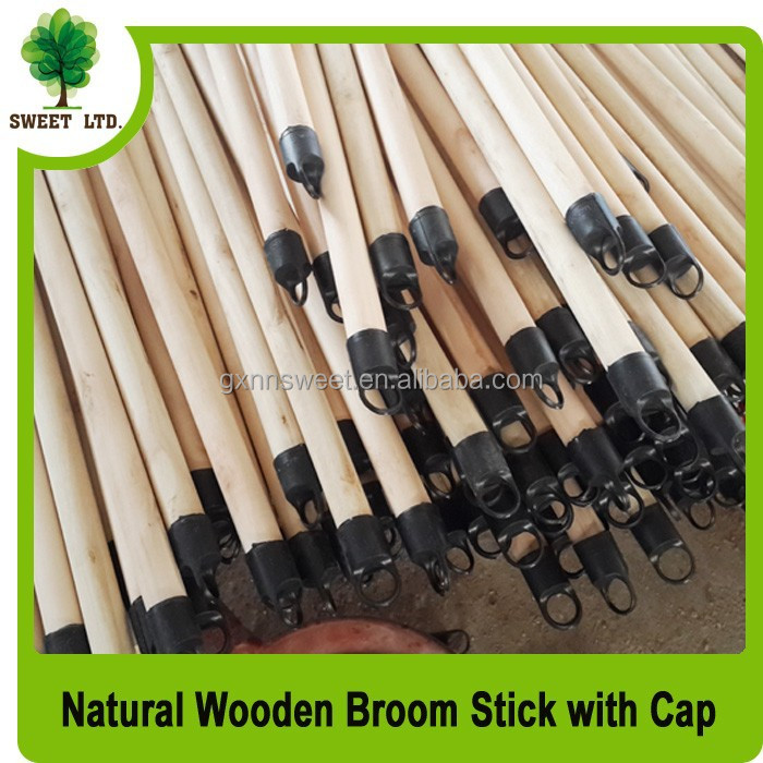 2015 hot sales products factory wholesales natural wooden broom stick