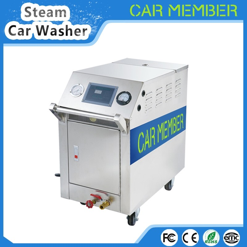 CAR MEMBER 220v steam generator car wash equipment mobile electric cleaner automatic cleaning used washing machine factory price