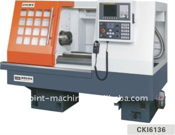 Flat bed type CNC lathe CKI-6136