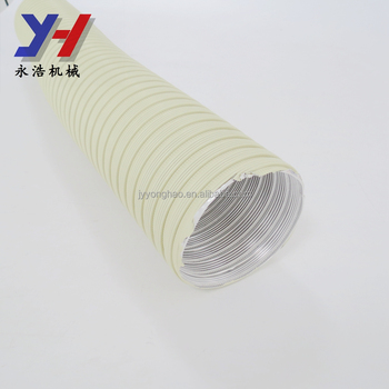 OEM ODM factory manufacture flexible aluminum duct collapsible air duct flexible ventilation pipe as your drawing