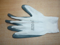 PU coated working gloves/labor insurance gloves/safety working gloves