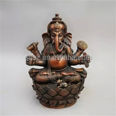 Guo hao hot sale custom polyresin god figurine , 3d hindu god idols
