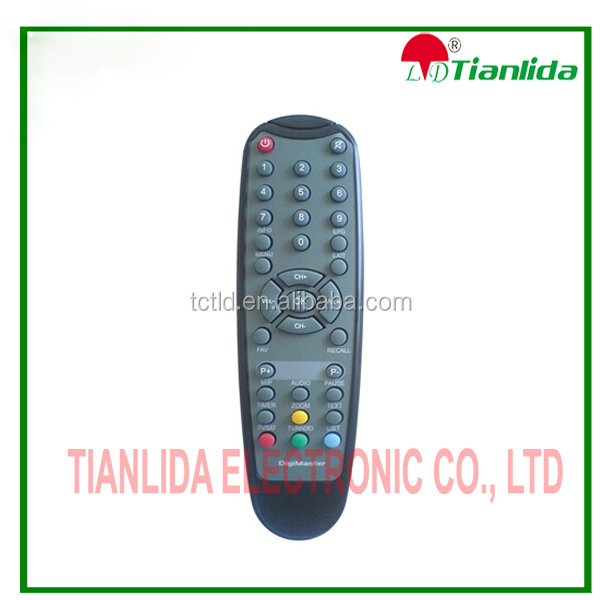 universal TV use satellite receiver remote control for TURKEY sat RC-DM 800 digi master remote control