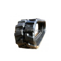 Construction Machinery Parts natural rubber track 400x72.5BxLINKS