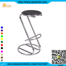"XQ-511 Cute Fashion Sex Snake Shape Of ""Z"" No Fold Furniture Bar Stool With PVC Leather Chair"